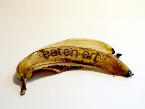 visual-poetry:  »eaten art« by anatol knotek [more of my text-objects] [ homepage | tumblr | twitter ]