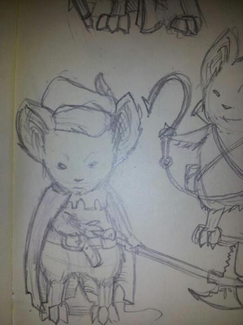 More mouseguard characters! This one is Yarovitch.