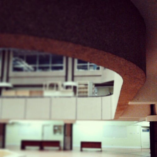 rainbowfluxcapacitor:  College of Science atrium, UP Diliman
