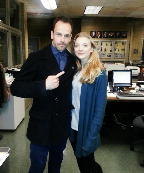 @jonnyjlm: Natalie is here! #elementary
