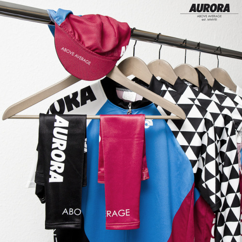 AURORA Cycling Kit 2013 by ▲ = trashisfesch = ▲ on Flickr.The new AURORA cycling kit looks so good. I am thrilled for mine