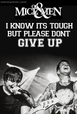 imafuckingm0nster:  Of Mice & Men - The Great Hendowski