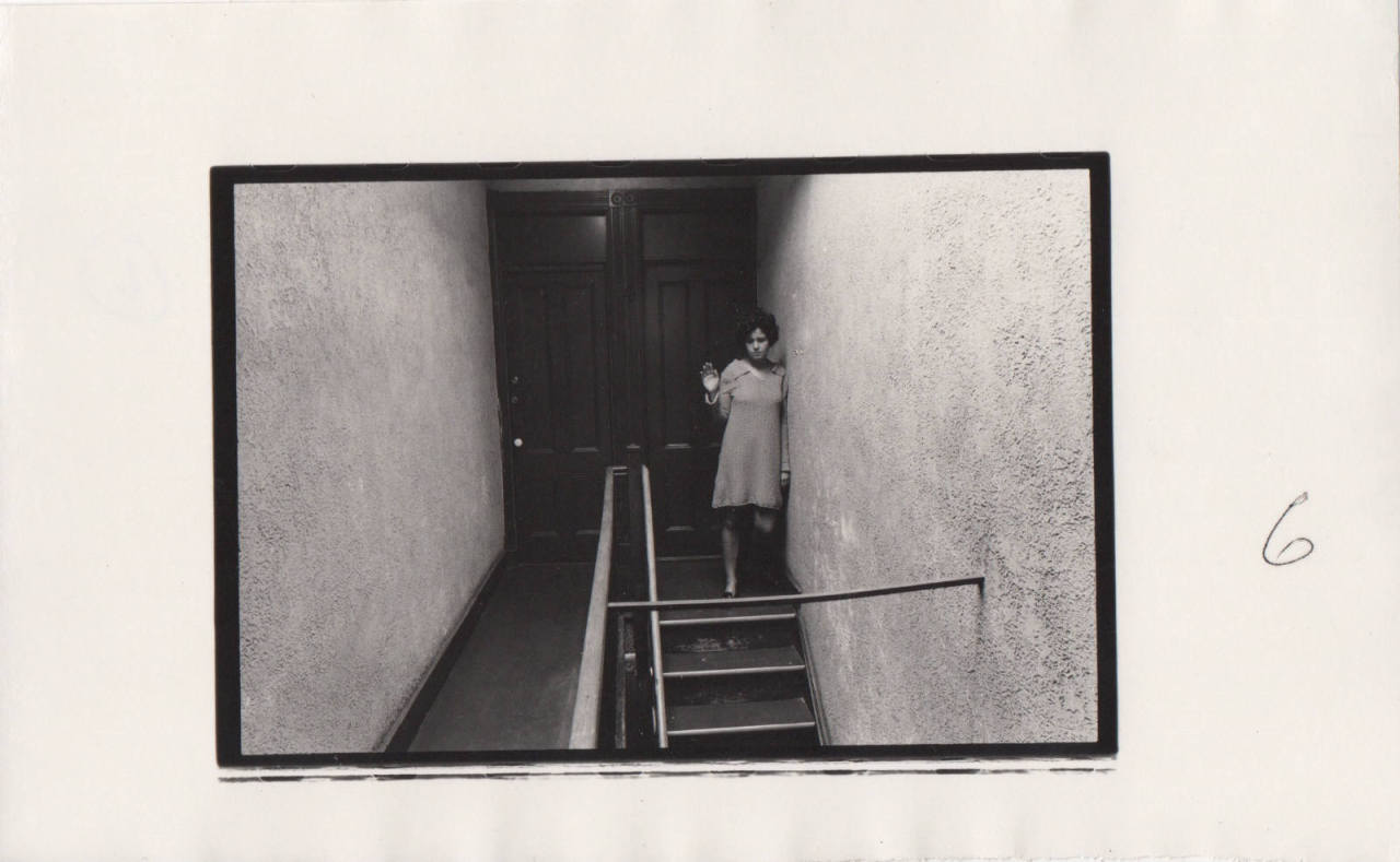 wasbella102:  Sad Farewell by Duane Michals, 1968Also