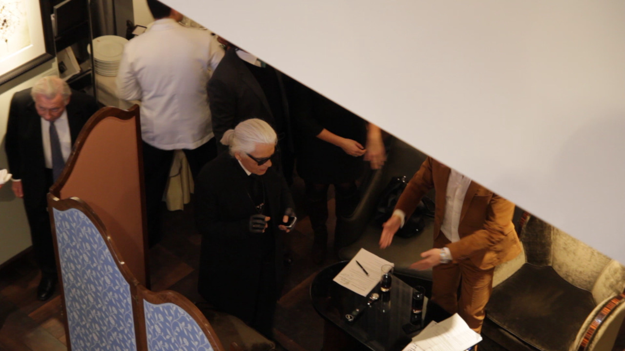 "'The Kaiser' AKA Karl Lagerfeld on being like ""a building with a TV antennae"""