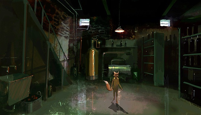 cussyeah-wesanderson:     The fantastic mr. Fox concept art by Chris Appelhans