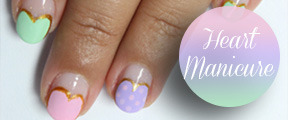 Valentine heart manicure nail art tutorial    This is going to be my first valentine nail art tutorial for this year! Valentine is a…View Post