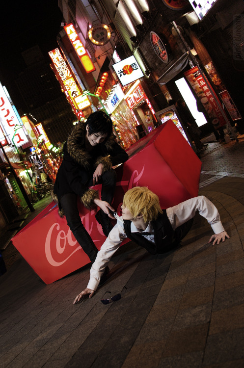 buried-by-ashes:  It's a shame how we playBut love is not a gameThere's a sound comin' downThat burns you to the groundBut they feast while you sleepIt marks you like a beastBut they lie through their eyesHow long can you take it? Izaya by me, Shizu-chanby Densha-otoko :> photo byhttp://ping-timeout.tumblr.com/