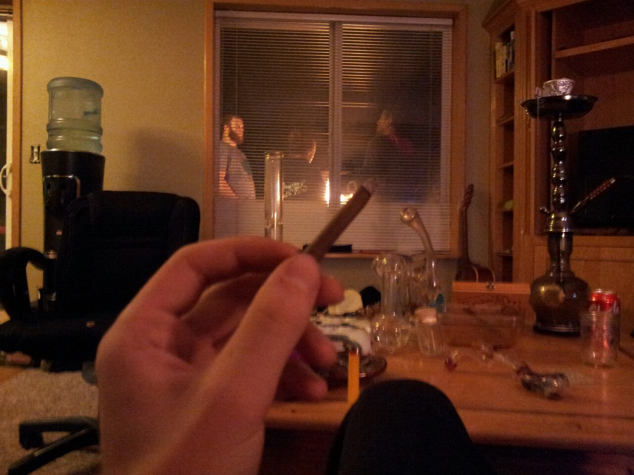 4/20 blunts with friends. :)