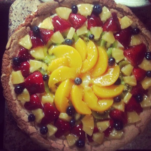 #fruitpizza #picsoffood  (at HEPHZIBAH)