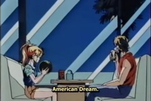 80s 1980s anime aesthetic blue aesthetic anime vaporwave american dream blue pastel california crisis 90s aesthetic 90s seapunk