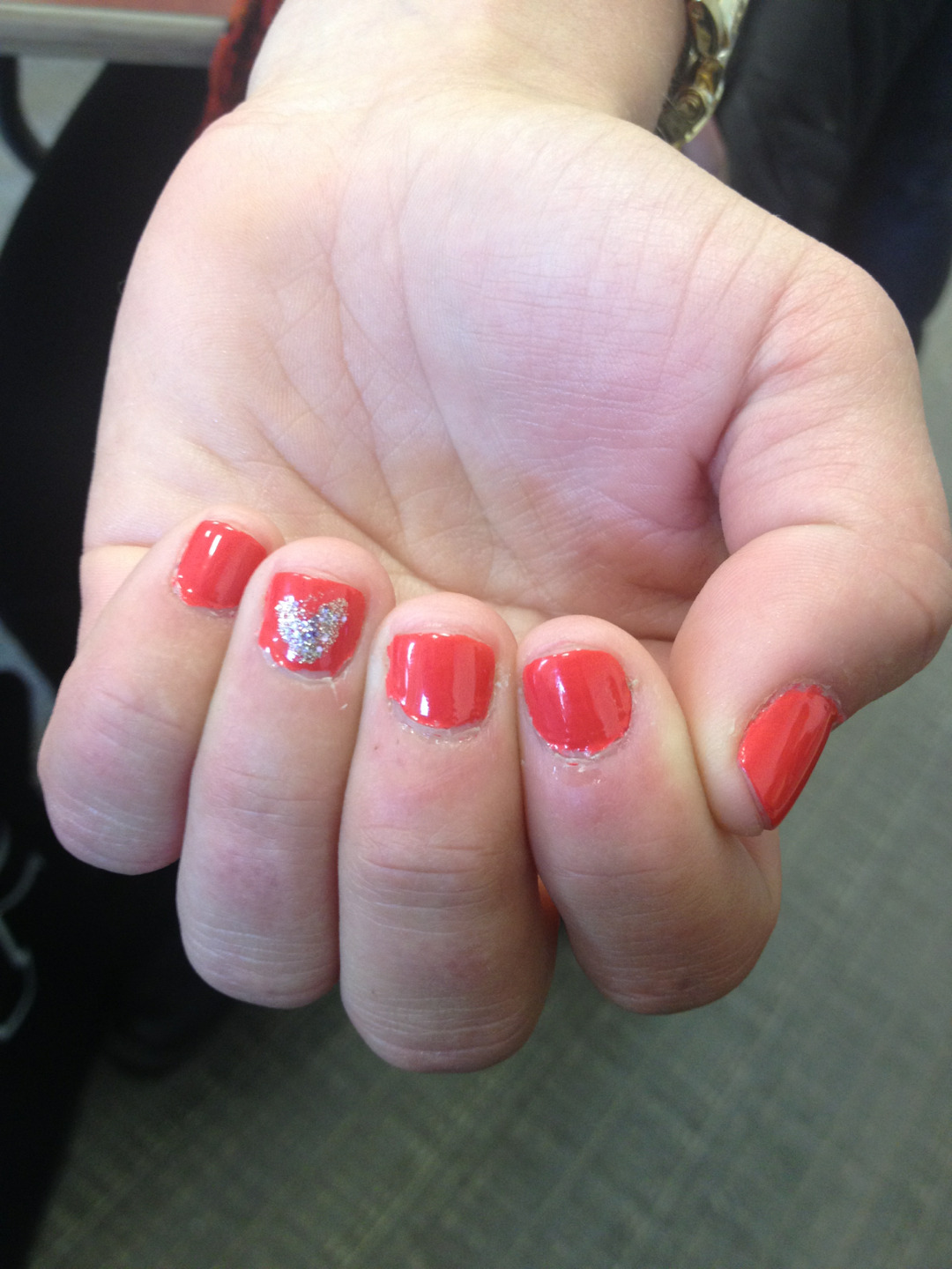 @Natty_G6's Valentines Day nails