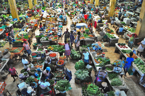 Market in the Capital, Sao Tome and Principe ~ by Ricardo Ribeiro