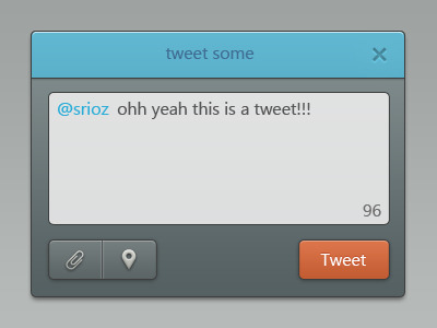 Tweet Window on @dribbble: http://drbl.in/genw