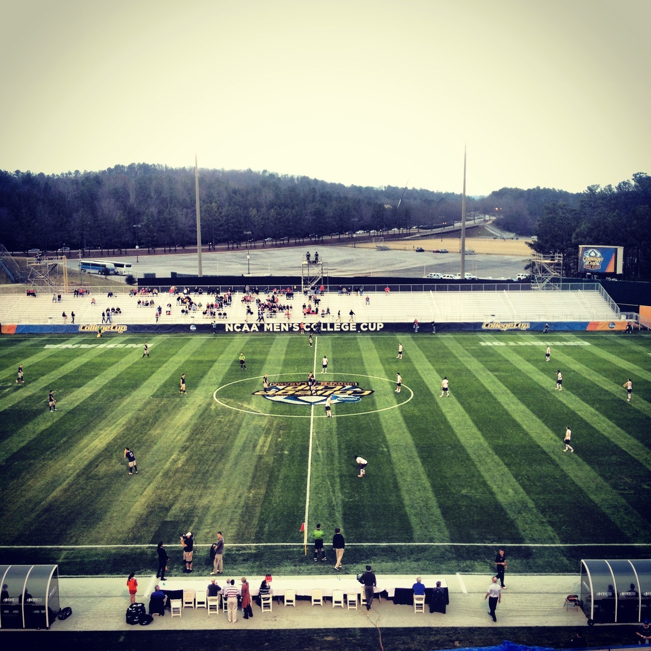 danieljtgallen:  Start of College Cup between Georgetown and Maryland on Dec. 7, 2012