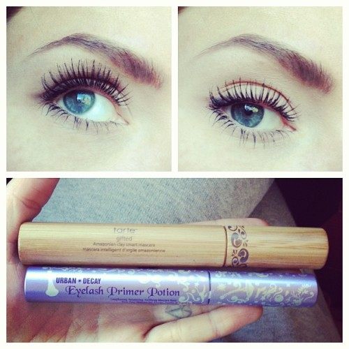This might be my new favorite lash combo. #beauty #lashes #eyelashes #urbandecay #UD #tarte