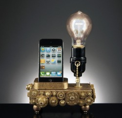 http://www.etsy.com/listing/114571792/ipod-iphone-charge-sync-and-display-dock?