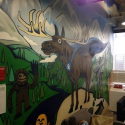 Facebook Moose (at Facebook Toronto Head Office)