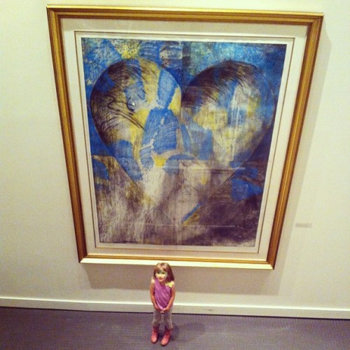 So big. So little.  (at Asheville Art Museum)