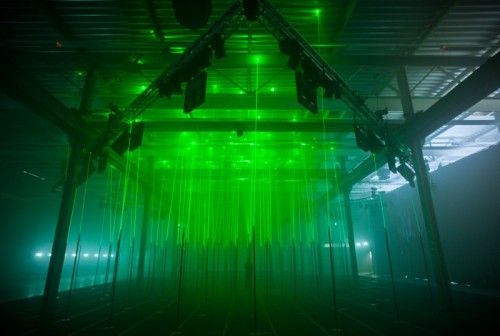 (via Memo Akten - Selected artworks, projects and research - Laser Forest)