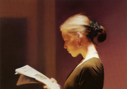 Gerhard Richter - Lesende (Reader)oil on canvas - 1994