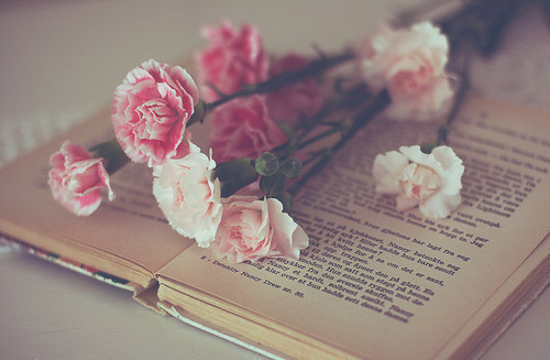 breathingdoesntmeanliving:  #book #roses