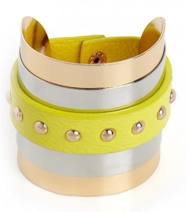 canttuchthis:  baublebar // lemon stud wrap cuff, $32  Perfect
