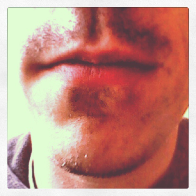 No shave November underway #movember #noshave
