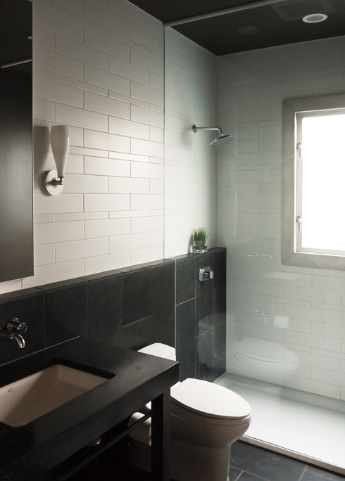 queen anne loft | bathroom detail ~ erich remash architect
