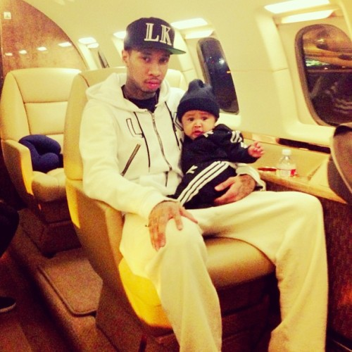 #Kingin on the Jet with my Lil man @KingCairo