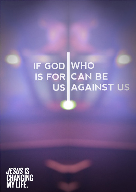spiritualinspiration:  There are many misconceptions about God in the world today. Some people think He's mad at them, and other's think He's keeping a list of all their wrongs. But that isn't what scripture tells us. Scripture tells us that God is gracious, patient and loving; that He is forgiving and doesn't treat us as our sins deserve. Scripture tells us that God is for us, and if God is for us, who can be against us? Think about that for a moment. The same God who created the heavens and earth, the one who spoke the universe into existence and knows everything about you, He is on your side and wants the best for you. I love today's verse because it is a great reminder that when God is for you, no one can win against you. Not the pain of your past. Not any mistake you've made. Not the forces of hell, your worst enemy, a bad economy, a difficult housing market or anything else on this earth. Today, instead of dwelling on what you're not, dwell on what He is — He is faithful, He is loving, He is with you and He is for you! And with God on your side, you are headed for victory all the days of your life!