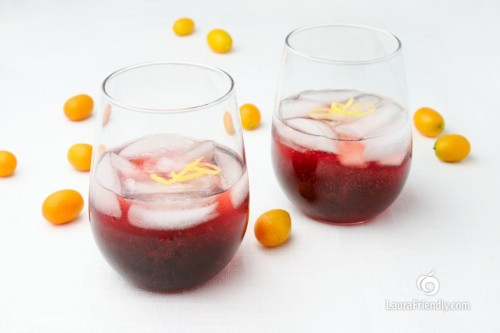 Happily Gluten And Dairy Free: HIBISCUS COCKTAILby Laura Friendly http://bit.ly/WGwCvP