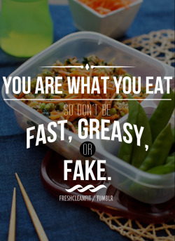 freshcleanfit:  Nourish yourself with good, healthy, food! Your body will thank you!