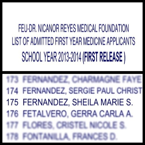 Thank you, Lord. I AM SO HAPPY! :) One step closer to my dreams! :)