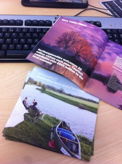Nene Valley strategy documents are back from the printers - pretty pleased with how this piece turned out in the end - square format in particular I really like…