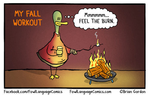Ready For Fall Bonus Panel / Fowl Language Comics