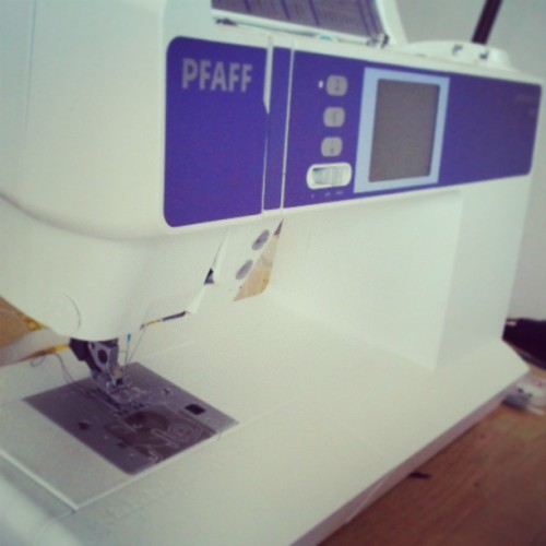 Another #day on the #machine! #Pfaff #girlwithOUTcancer #Work #working #Sewing #winethursdays
