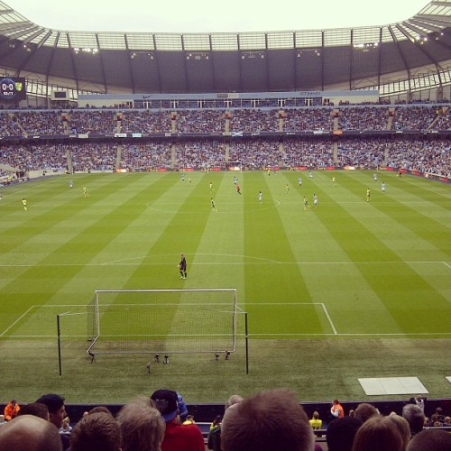 nogravebutthesea:  Man City away yesterday. A pretty good way to end the season.