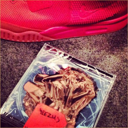vivalapeanut:  all red air yeezy 2s n the possible cover to yeezus