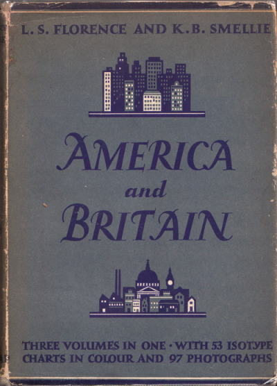 America and Britain Florence British vs. American politics in vibrant, minimalist vintage infographics from the father of ISOTYPE, the pictogram language that gave rise to modern infographics. This rare out-of-print volume is a true treasure of design and political history – images at the link: