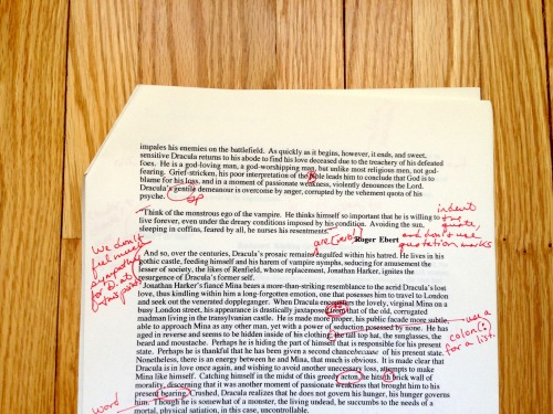 —From 1996, an  eleventh-grade essay on Bram Stoker's Dracula in which the author, amidst his senseless semantic grandiosity, chooses smartly to quote the great film critic Roger Ebert (never senseless or grandiose), who passed away today at the age of 70. (GA)