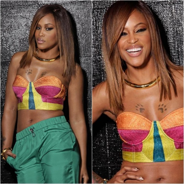 @theRealEve looks amazing.