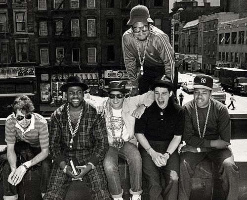 thejuicefresh:  knowledgeequalsblackpower:  Run DMC and the Beastie Boys  Fav.