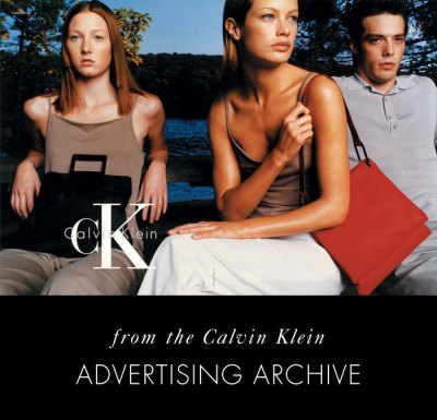 ck Calvin Klein, 1998.  Carolyn Murphy, Maggie Rizer.  From the Calvin Klein Advertising Archive.  Photo © Steven Meisel