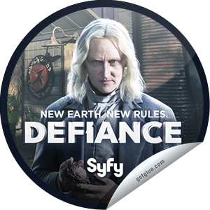 I just unlocked the Defiance: Datak Tarr sticker on GetGlue                      1876 others have also unlocked the Defiance: Datak Tarr sticker on GetGlue.com                  Though the Castithan culture is governed by an inflexible caste system, through the disorienting egress from the Votanis system, Datak Tarr has managed to secure himself a position of authority that he would never have been able to achieve on his homeworld of Casti. The husband of a proper, aristocratic Castithan woman, and the ringleader of Defiance's shadier dealings, Datak embodies the notion that the ends justify the means. While it may be best for your health to avoid his notice, those under Datak's protection have little to fear even in the terraformed world of 2046. Share this one proudly. It's from our friends at SyFy.