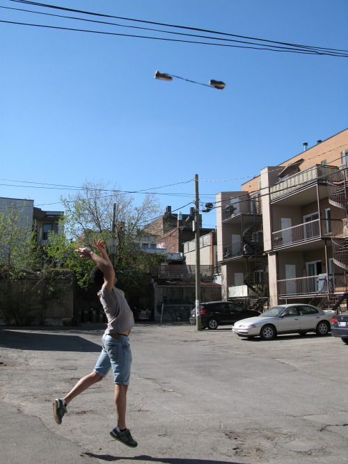 May 4th, Shoe Tossing