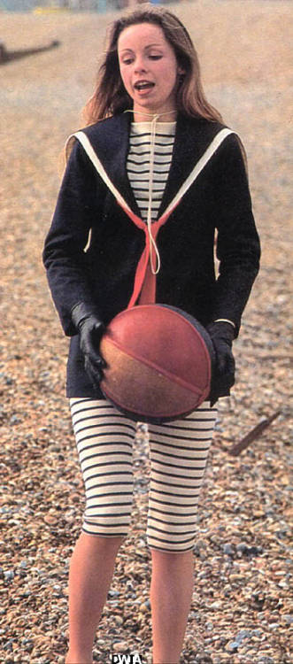 My fashion icon as a child was my favorite companion from Doctor Who of all time: Lalla Ward who played Romana II.