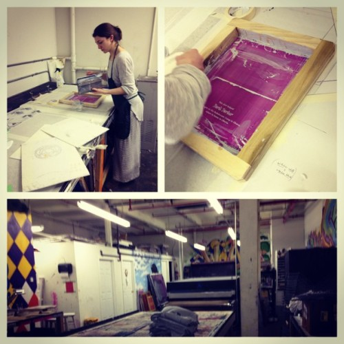 printing the GroundUp tanks  at @gowanusprintlab - order yours today!