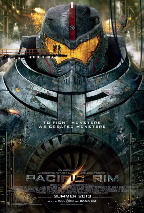 gamefreaksnz:  New 'Pacific Rim' trailer brings giant monsters  Here's the new trailer for Guillermo del Toro's Pacific Rim from Warner Bros. Pictures.  ALL OF MY WANT