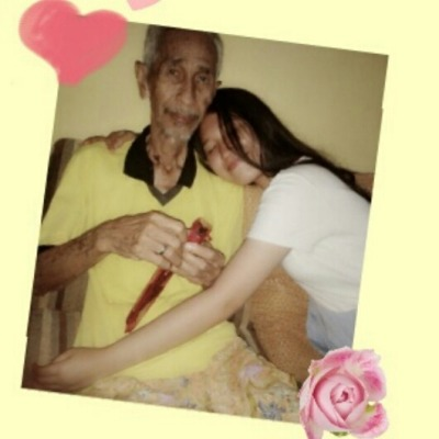 You've never failed to always be there for me. I love you grandpa – View on Path.