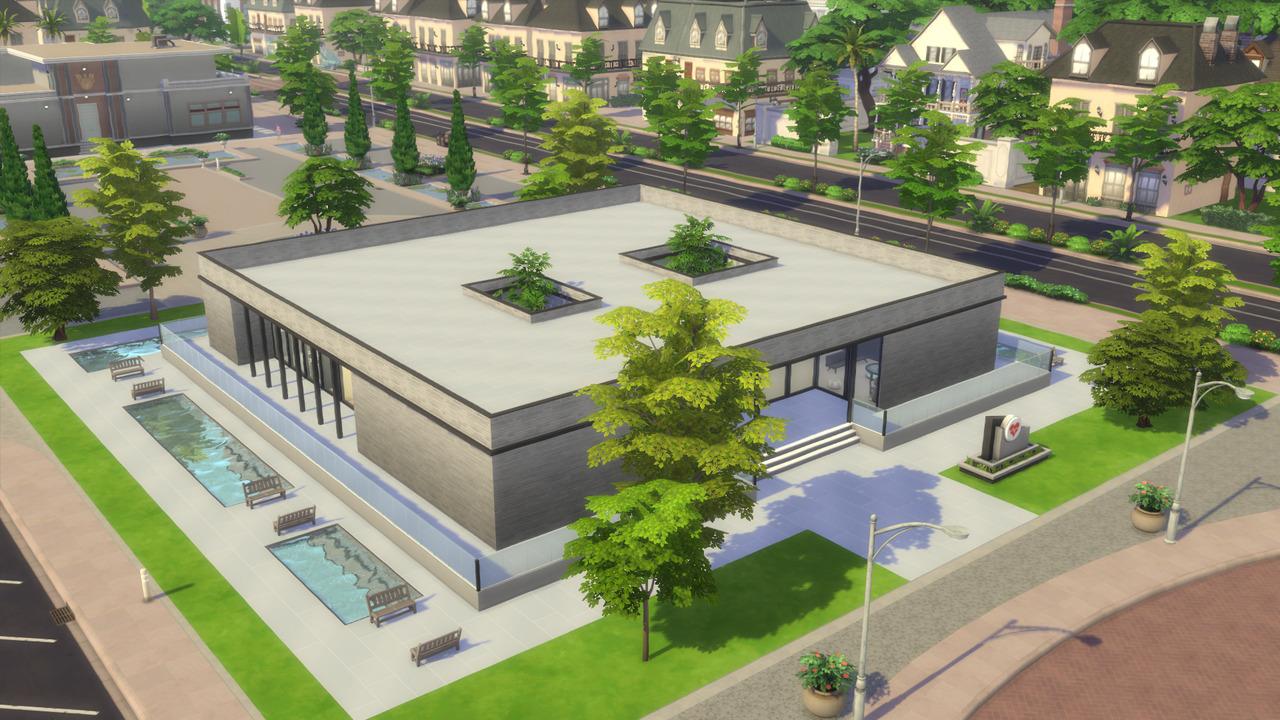 Sims 4 mod hospital by ArchiSim